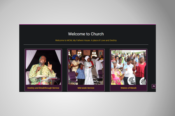 Millennium Christian Ministry - CMS Integration (Published)